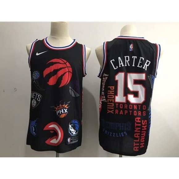 quality design 3809b 0a6c2 Toronto Raptors Vince Carter Jersey (3) NWT